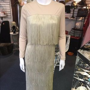 Dresses & Skirts - Fred Perlberg Vintage fringe dress size S
